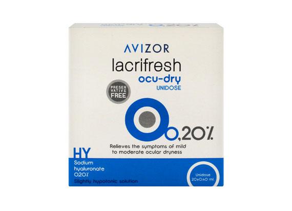Ecco - MPGE Avizor lacrifresh ocu-dry 0,2% (20x0,4ml) 19