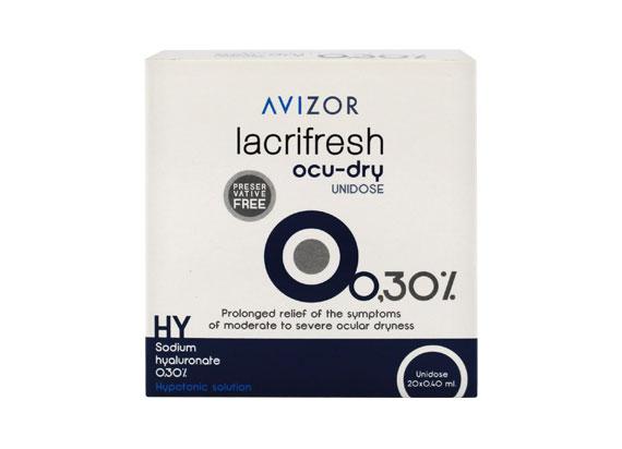 Ecco - MPGE Avizor lacrifresh ocu-dry 0,3% (20x0,4ml) 19